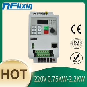 For Europe !220v 2.2KW VFD Solar Frequency Inverter DC Input to 3P 380V Output Motor Speed Control