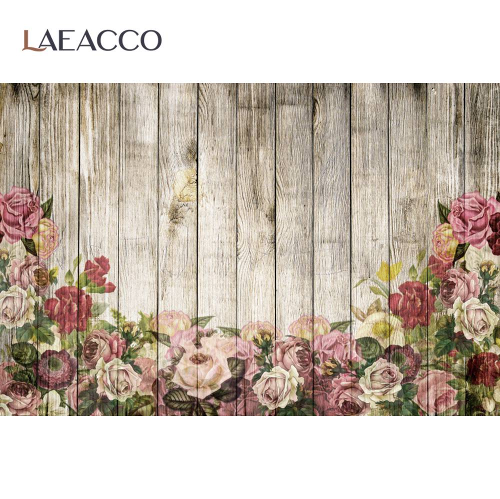 Старые деревянные доски цветы шаблон фон для фотосъемки в стиле детского дня рождения с изображением фон, фото-декорации Фото фон для фотос...