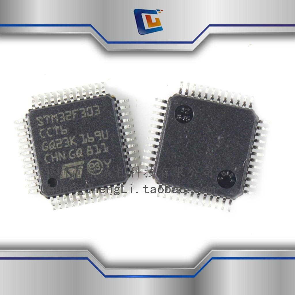 1pcs/lotNew STM32f303cct6 Original Microcontroller Single Chip Microcomputer IC Chip