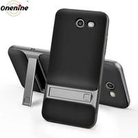 kickstand silicon cases for samsung galaxy j3 2017 emerge prime case 3d cover 5 0 hybrid phone back armor housing carcasa coque