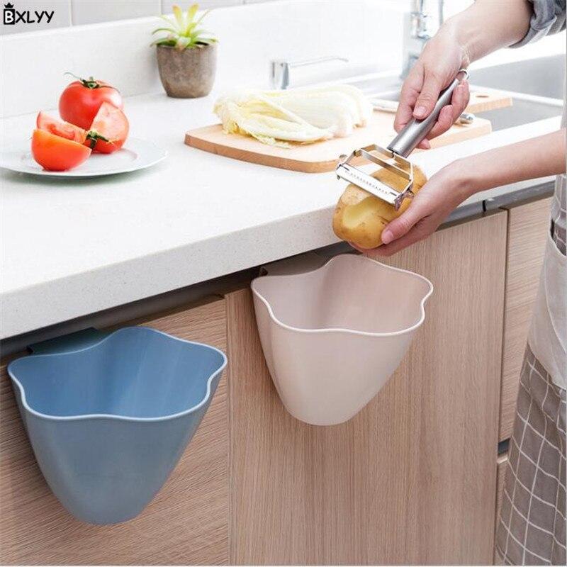¡Oferta! Armario de cocina, puerta, cubo de basura, herramienta de limpieza, caja de almacenamiento de plástico para el hogar, Gadget de cocina, accesorios de decoración para el hogar, Cocina. TJ