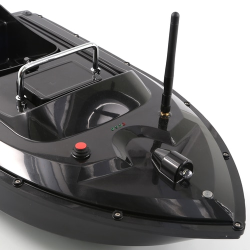 500M Wireless RC Fishing Bait Boat 2 Hoppers Hook/Bait post 2 Motors ,LCD GPS Sonar Fishfinder,Handbag,Batteries for Angler enlarge