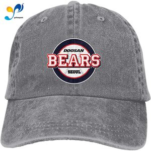 Unisex Doosan Bears Cotton & Denim & Tie Dye Dad Hat Baseball Cap