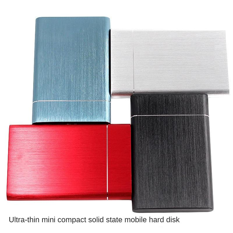 المنتج المصغر المصغر المحمول الحالة الصلبة القرص الصلب 2T 4 تيرا بايت 8 تيرا بايت USB3.0 قابلية الحمل والبراعة