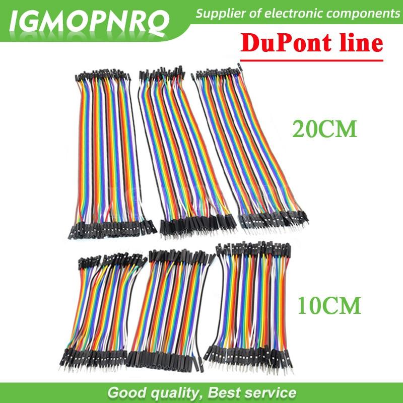 Перемычка Dupont для Arduino diy kit, 120 шт., 10 см,