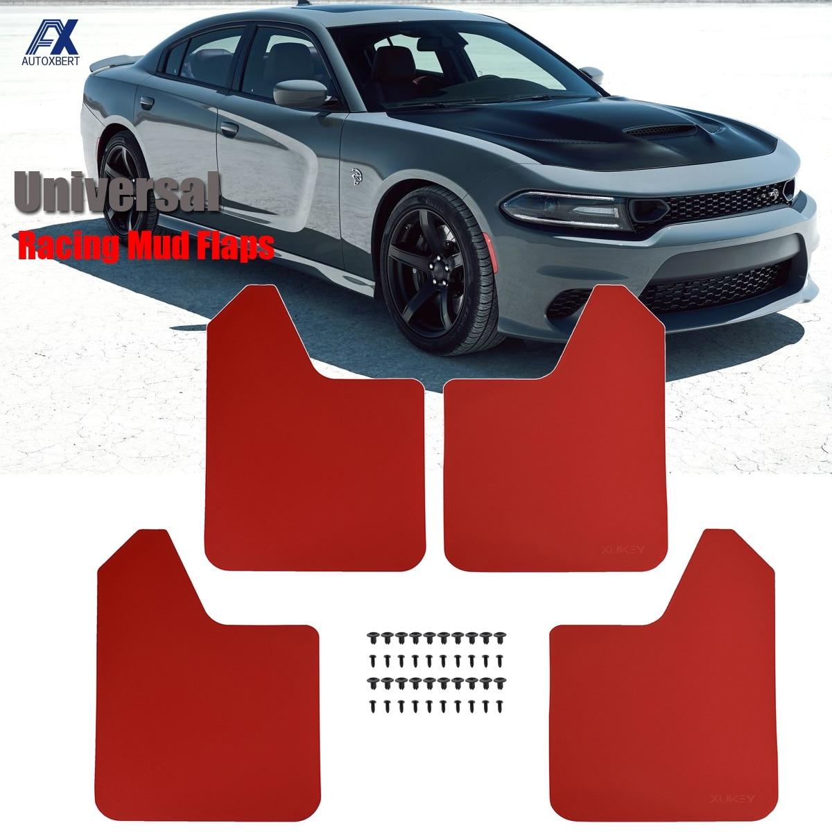 Universal Car Mud Flaps Fender Flares Splash Guards Front Rear Mudguard Splash Guards Exterior Parts for AvtoVAZ lada Niva 2020