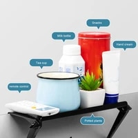 computer monitor rack plastic lcd tv top screen sturdy and durable abs material bracket creative multifunctional storage rack