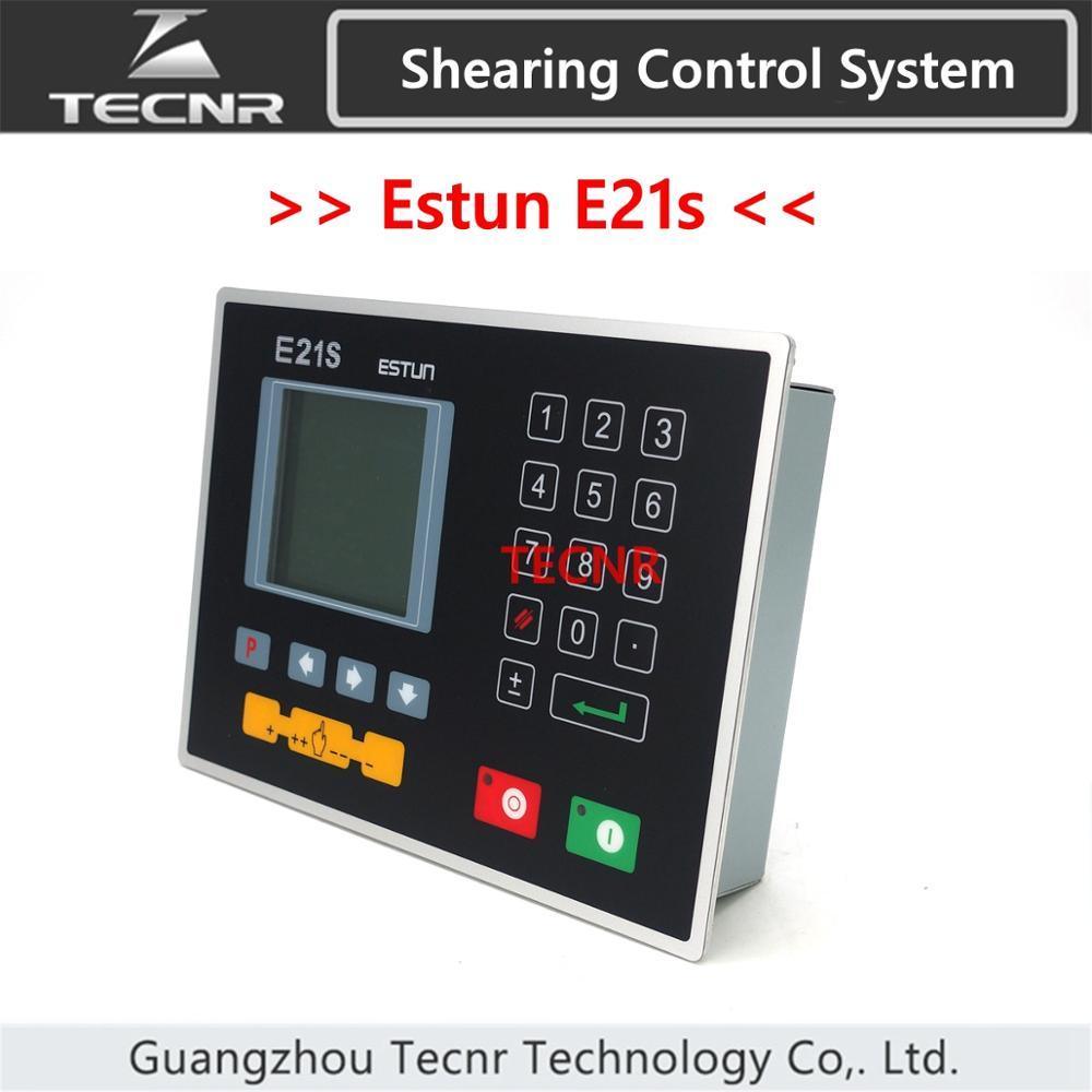 Estun E21s نظام التحكم في القص وحدة تحكم بالحركة قطع لوحة المقص ماكينة تقطيع هيدروليكية