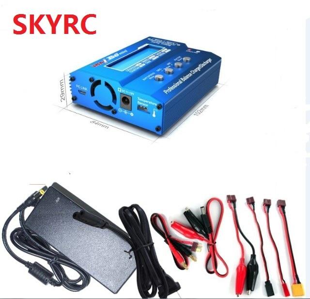 SKYRC-شاحن IMAX B6 للتوازن الصغير للطائرة المروحية RC ، شاحن Re-peak Ni MH Ni CD LiHV الأصلي ، محول الطاقة