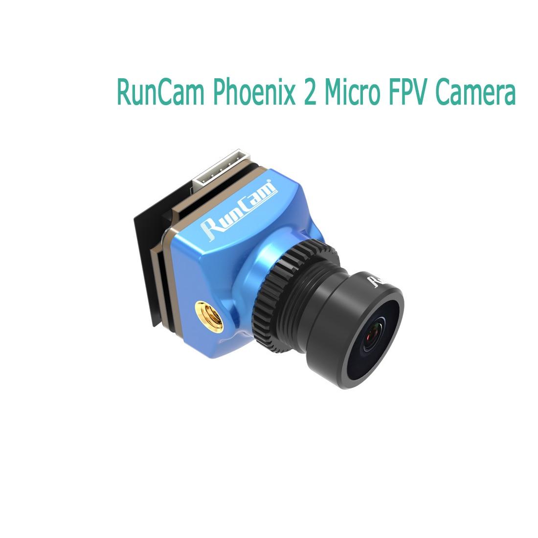 Runcam phoenix2 fpv câmera micro 19x19/nano 14x14 1000tvl 2.1mm 169/43 pal ntsc comutável para o robô do carro do zangão de freestyle rc