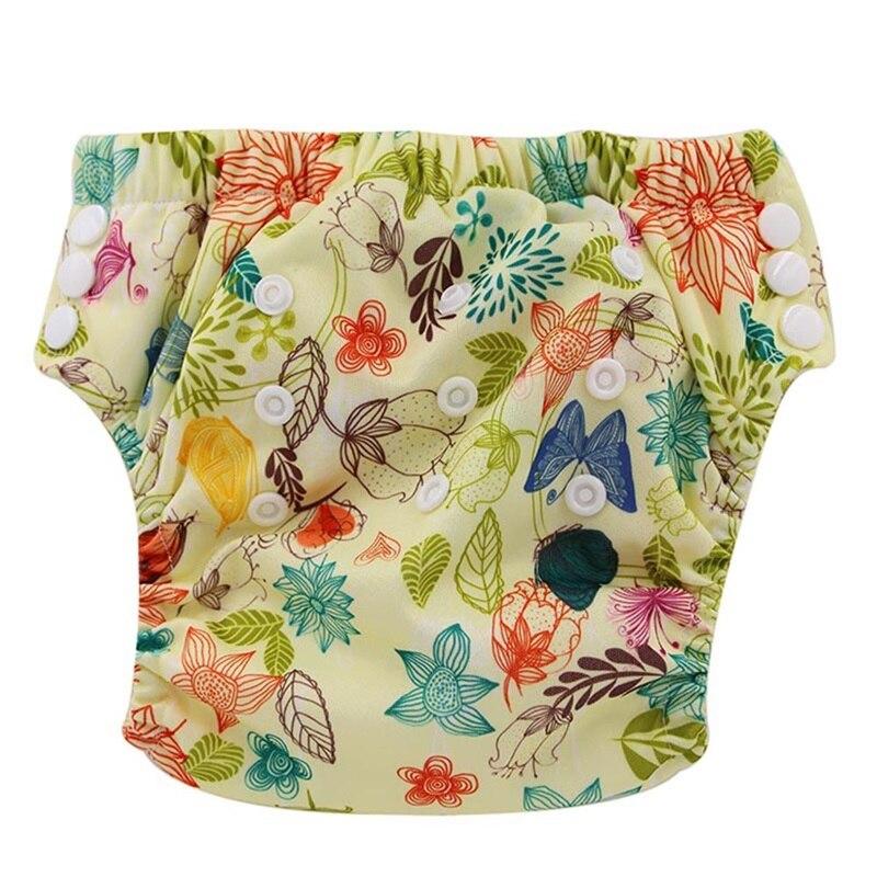 Okbabyha 2020 pantalones de entrenamiento para bebé pañal de tela lavable pantalón 12 colores niño bragas ropa de recién nacido reutilizable pantalones de entrenamiento