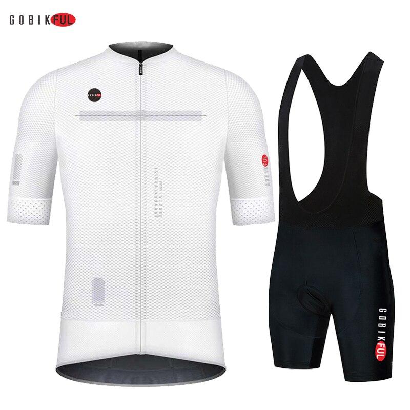 GOBIKFUL Pro Cycling Jersey Men AERO Bicycle Jersey lightweight Mtb seamless Process bike Cycling Cl