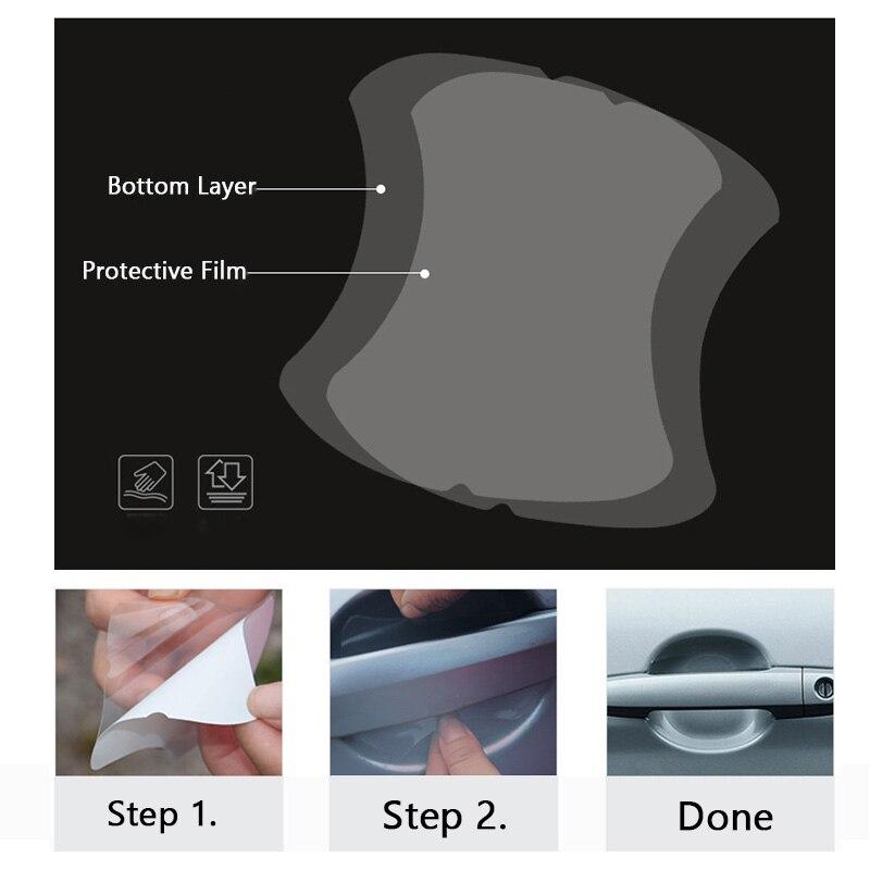 5 шт./компл. прозрачная автомобильная ручка Защитная пленка для Nissan X-Trail Juke Qashqai Micra пульсара Qashqai Micra Juke Примечание Tiida листьев
