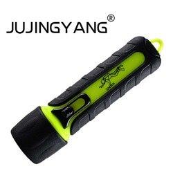 Lanterna de mergulho led forte luz de longo alcance q5 tocha luz usa aa bateria para natação, acampamento, mergulho, etc.