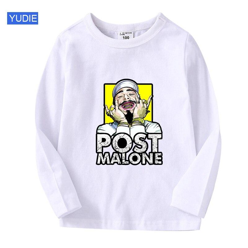 t shirt 2020 New Summer Boys T Shirt Fashion Print Kids T Shirt For Boy Cotton Long sleeve Baby Girls T Shirt Children's Clothes