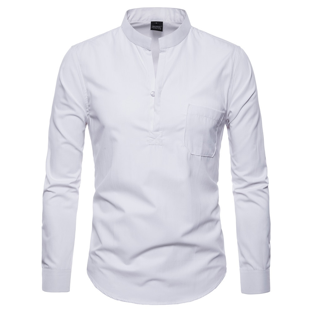 2017 new fashion designer contrast multi striped casual men shirts slim fit comfort soft button down design cotton shirt m497 Men Casual Shirts 2021Autumn New Fashion Solid Color Man Long Sleeve Cotton Slim Fit Casual Business Button Shirt Tops