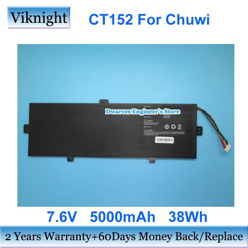 Review Rechargeable CT152 Battery For Chuwi RTDPART CT152K-D Laptop Li-ion Battery Pack 7.6v 5000mAh 38Wh