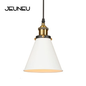 Loft Industrial Pendant Lamp Adjust Cord E27 LED 110V 220V Hang Retro Iron Modern Pendant Lights for Kitchen Living Room Bedroom