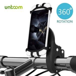Держатель для телефона Untoom, силиконовый держатель для телефона с поворотом на 360 градусов для мотоцикла, скутера, велосипеда, GPS, для iPhone, Xiaomi