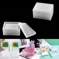 1pcs tissue storage case silicone molds storage box casting mould epoxy resin mold for diy crafts jewelry making home accessorie