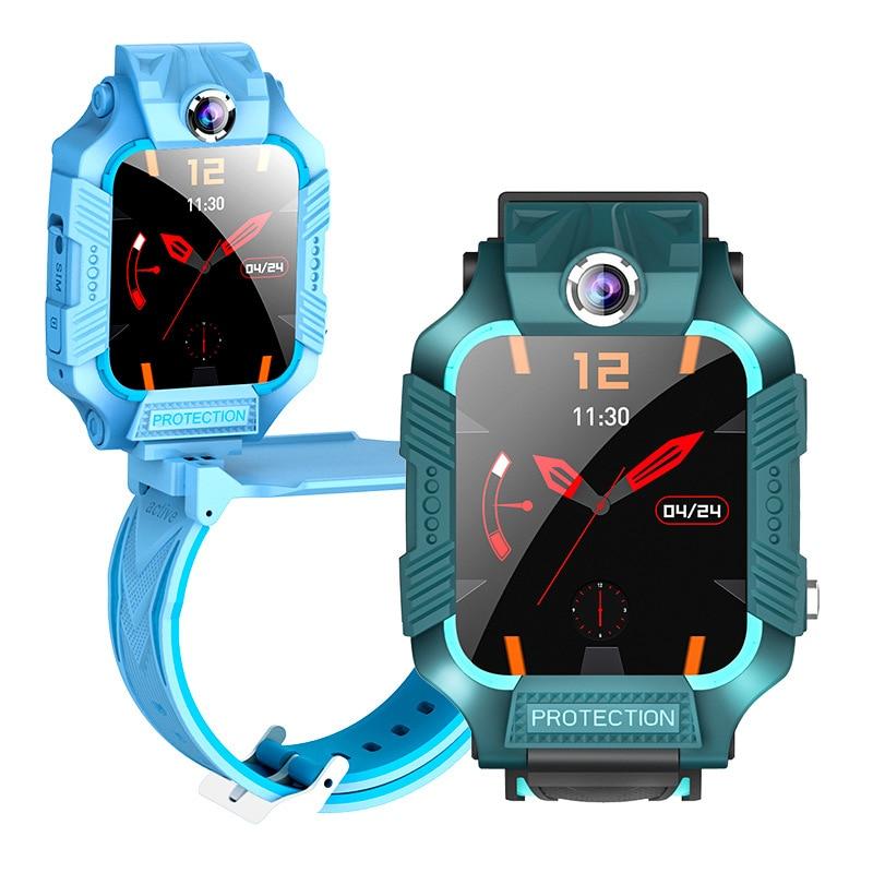 Six generations of children genius phone watch waterproof photo smart positioning watch children'sday gift can flip rotary watch enlarge