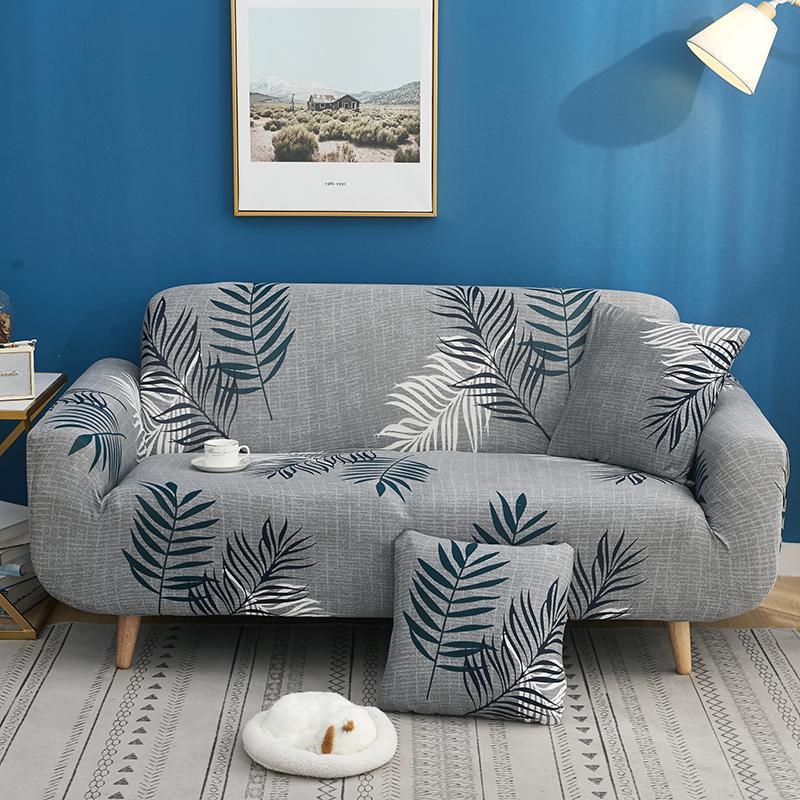 40 todo incluido, cubierta elástica ajustada, cubre sofás, Funda de sofá elástica Universal, esquina individual, fundas para sofás de dos plazas, Funda para sofá 3 Plaza