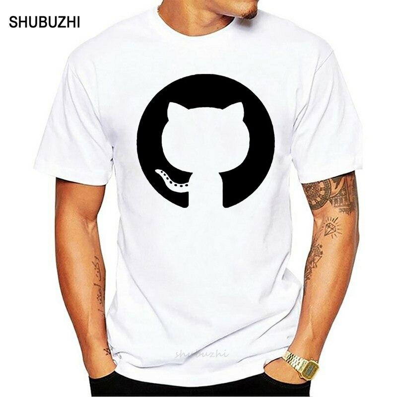 Nueva Camiseta de algodón de manga corta github octopus programador de código abierto programación geek camiseta hombres