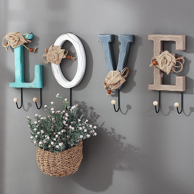 علاقة تخزين للديكور المنزلي, شماعة مصنوعة يدويًا لتزيين الجدران ، تستخدم كحامل مفاتيح في ديكورات الزفاف