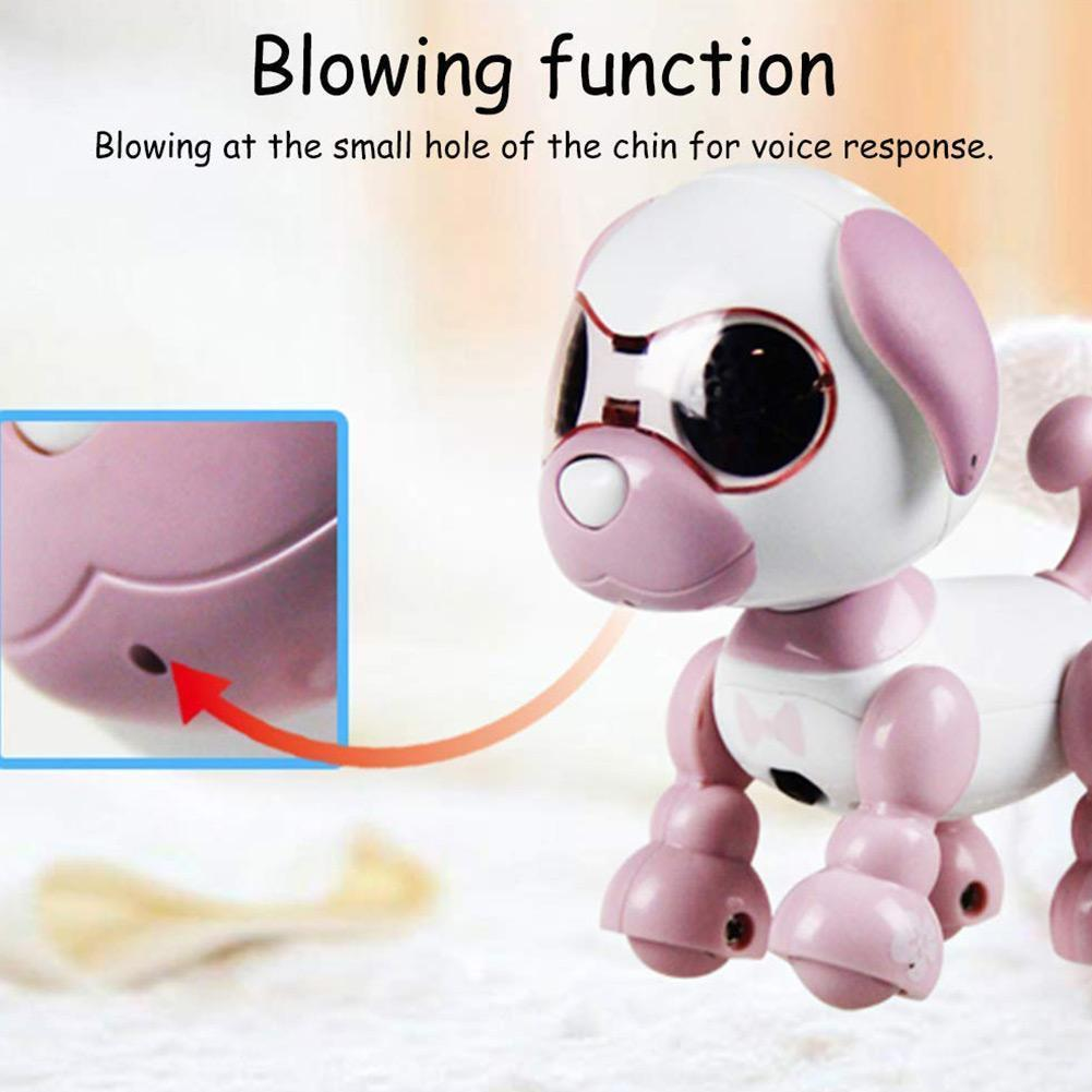 Головоломка для домашних животных собака Запись голоса изменение голоса робот собака Интерактивная детская игрушка Карманный Playmate K5G4