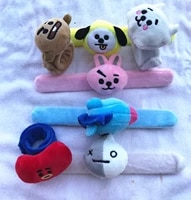 jcbtsh baby series cartoon cute animal pattern wrist strap plush wrist doll personality fun toy fat hands and arms are suitable