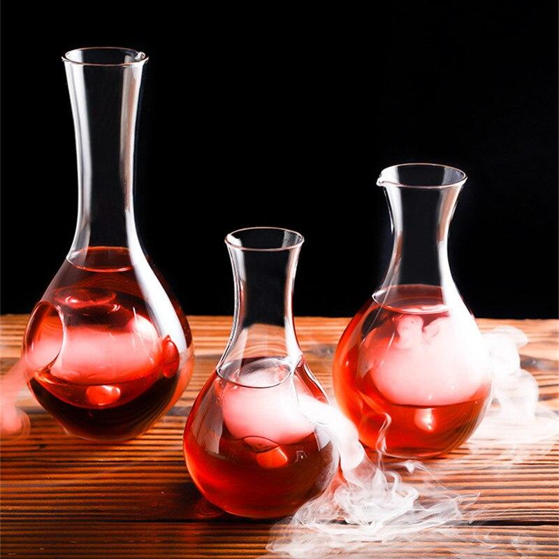 Garrafa de vinho de cristal japonês saquinho de vidro de gelo garrafa de saquinho de gelo hamster ninho recipiente de vinho sala de resfriamento dispensador de vinho decanter