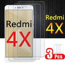 Redmi 4x Screen Protector For Xiaomi readmi 4 x Tempered Glass Xiaomei x4 redmi4x xiaomi4x Protective Film HD glas 1-3 pcs sheet