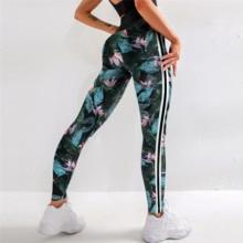 Pantaloni A Vita alta Ghette Delle Donne Stampato Floreale Corsa E Jogging Pantaloni di Yoga Gymwear Workout Trainning di Energia Activewear Push Up