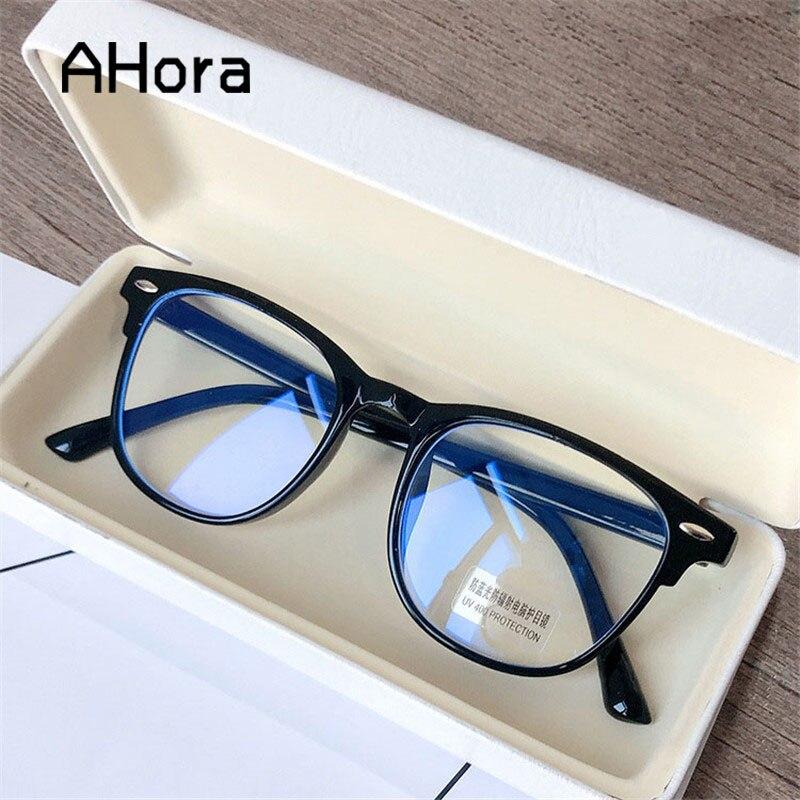 Ahora 2020 quadrado anti azul óculos de luz óculos mulher & homem lente clara computador óculos de óculos ópticos jogos