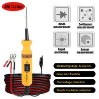 AUTOOL Wholesale BT160 Car Circuit Tester 12V 24V Power Probe Automotive Diagnostic Electric Voltage Integrated Power Scanner