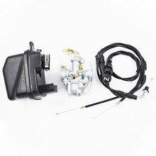 Carburetor For Yamaha Y Zinger Pw 50 Pw50 Uk 23mm Plug Carburetor Air Filter Choke Cable & 21mm Throttle Choke Cable suitable