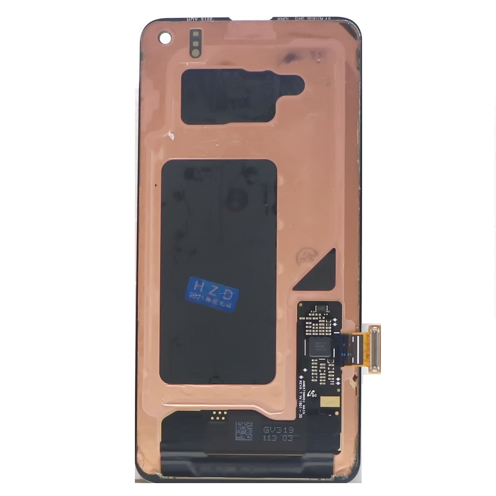 100% Original LCD For SAMSUNG Galaxy S10E G970F/DS G970U G970W SM-G9700 Display Touch Screen Digitizer Replacement +back cover enlarge