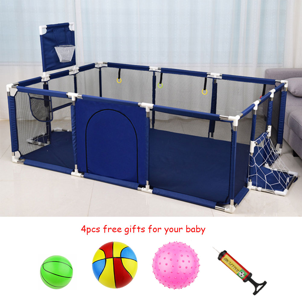 Children's Playpen for Baby Playpen for Children Kids Ball Pit Playpen Baby Playground Basketball Court Indoor Football Field