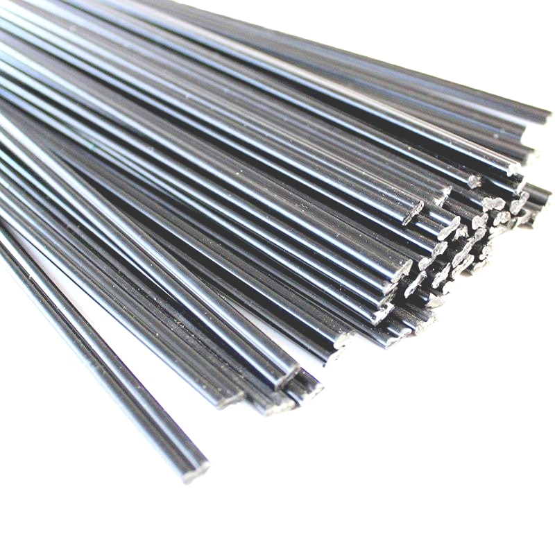 100pcs PP Plastic Welding Rod Black