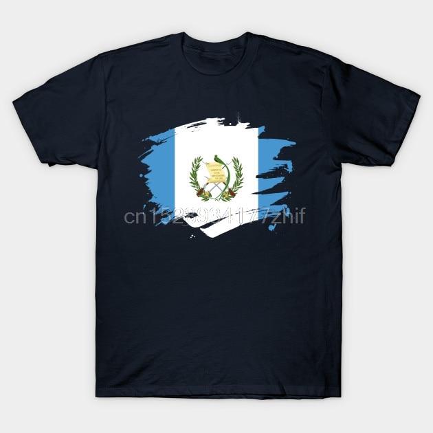 Мужская футболка с изображением флага, Guatemalan Pride, дизайнерская футболка, женская футболка