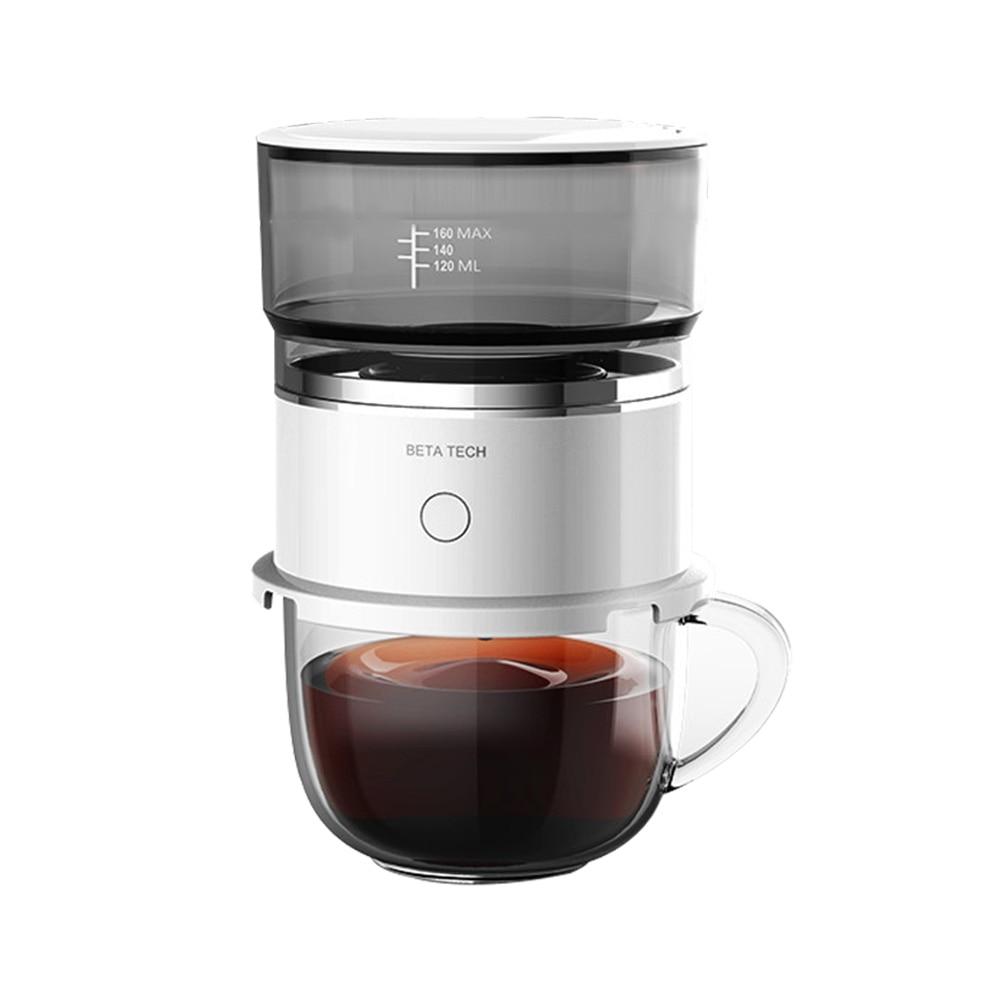 Smart Automatic Hand Brewing Coffee Maker Machine Mini Portable Drip Coffee Pot Home Travel Coffeeware Drinking Accessories