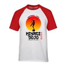Japon Kung fu Miyagi Dojo t-shirts hommes Cobra Kai karaté enfant T-shirt Judo T-shirt mma bonsaï arbre T-shirt été mode vêtements