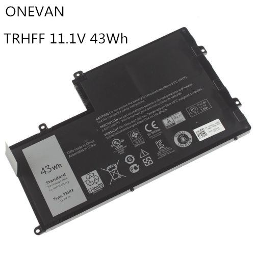 ONEVAN TRHFF بطارية كمبيوتر محمول لديل انسبايرون 14 15-5547 5447 5445 5448 5548 ل خط العرض 3450 3550 TRHFF 1V2F6 01V2F 43WH