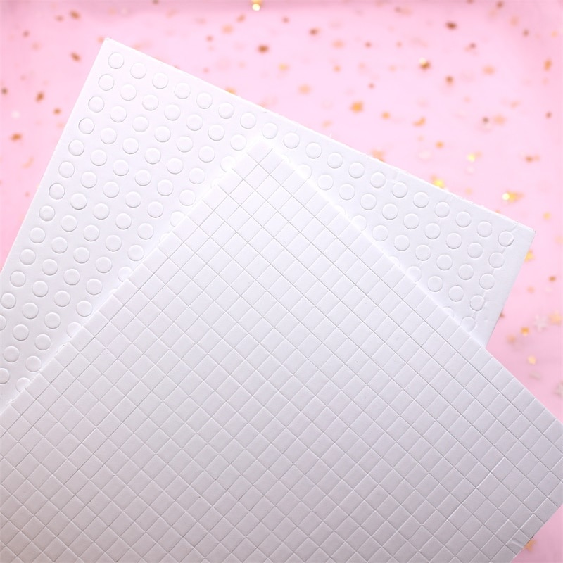 KSCRAFT 2mm Thick White Foam Glue Dots Paper Sponge EVA for DIY Shaker Card Making Scrapbooking Craft Supplies
