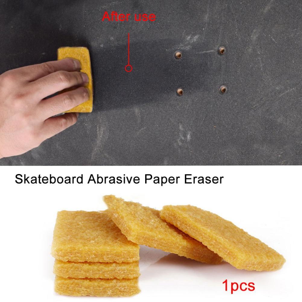 Limpiador de papel de lija eléctrico para patinete, esponja de limpieza, goma de borrar de papel de lija para Xiaomi M365, cinta de agarre para Scooter