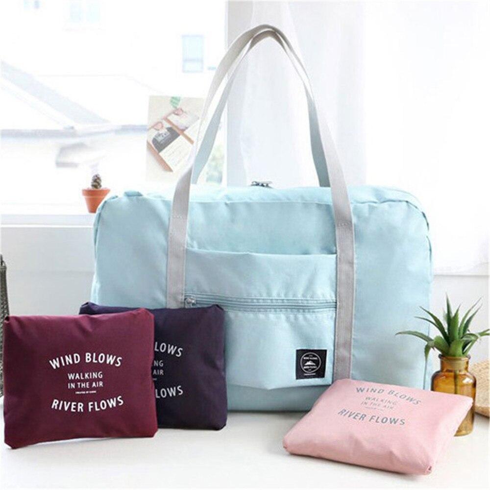 Bolsa de viaje para mujer, gran tamaño, multiusos, portátil, plegable, para llevar, bolsa de viaje, bolsas de viaje para mujer 2020