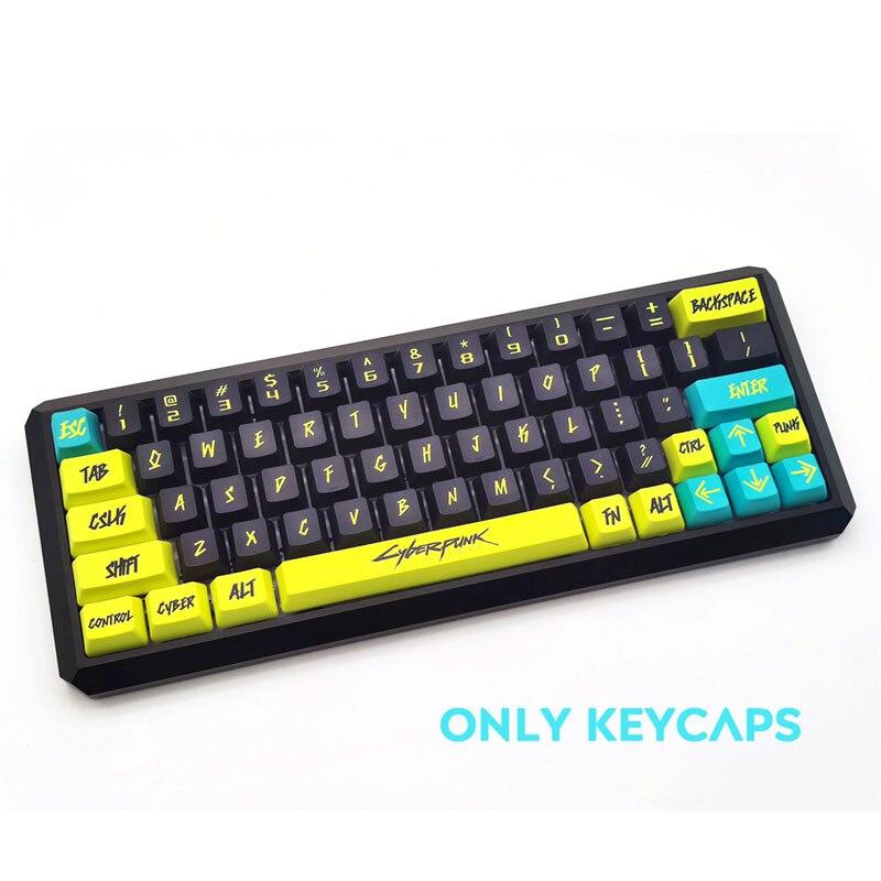 جديد 117 مفاتيح PBT Keycap صبغ الفرعية OEM الشخصي الشرير شخصية كيكابس ل الكرز MX التبديل لوحة المفاتيح الميكانيكية هدية الكريسماس
