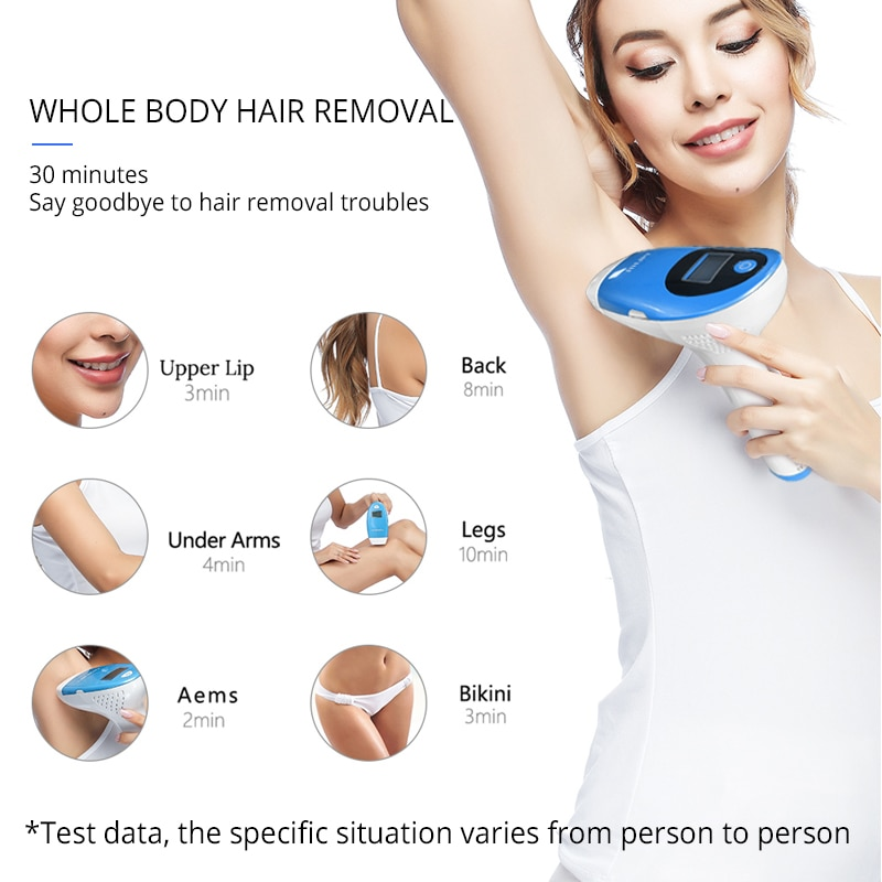 Mlay Hair Removal Depilador a Laser IPL Hair Removal Machine Permanent Bikini Trimmer Hair Remover Epilator For Women Swimsuit enlarge