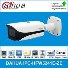 Dahua IPC-HFW5241E-ZE dorigine 2MP Pro AI IR Vari-focal caméra réseau IR 50M Micro mémoire SD, IP67, caméra IP POE IK10