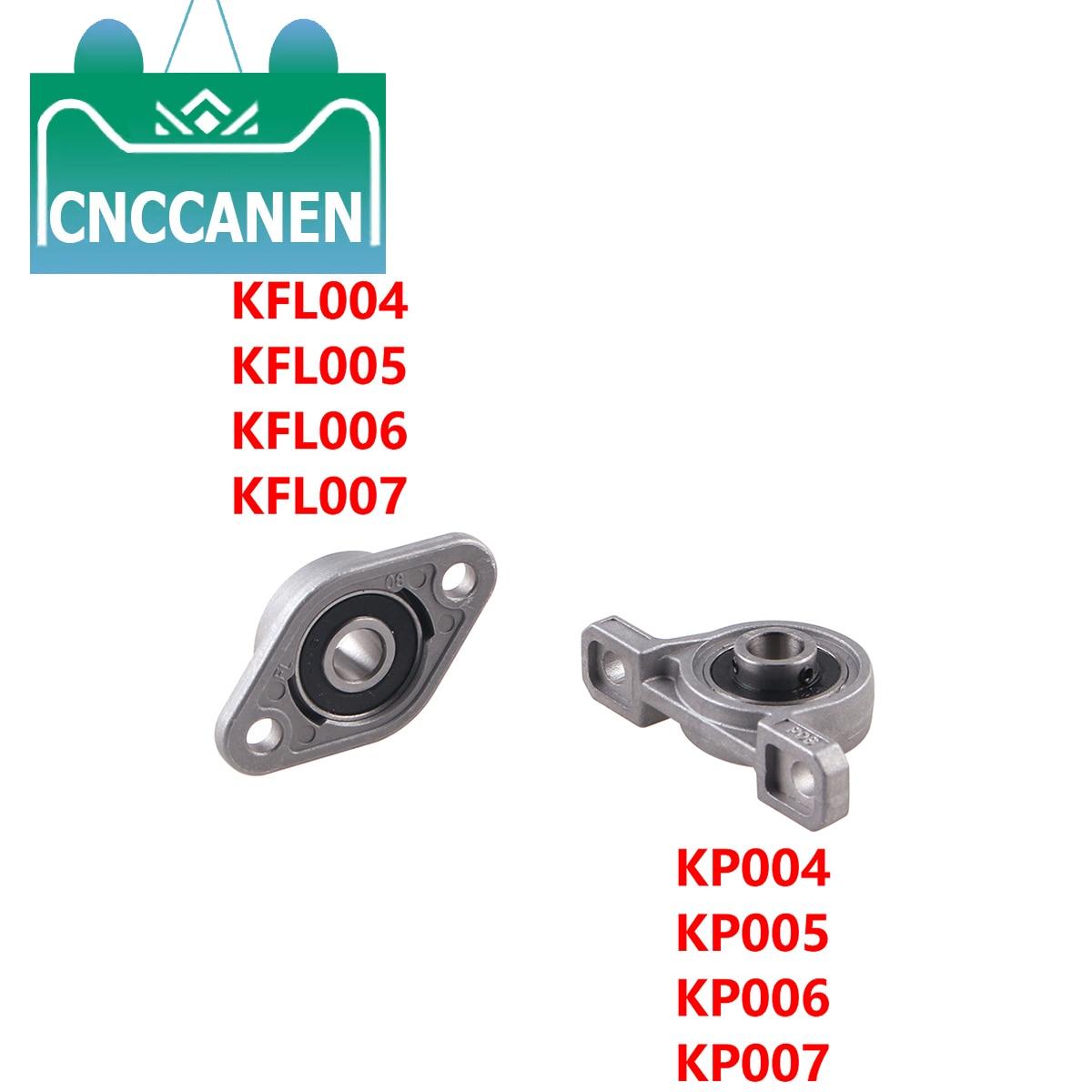 Montaje del cojinete Vertical Horizontal soporte cojinete de almohada cojinete de bloque KP004/005/006/007 KFL004/005/006/007 piezas de impresora CNC